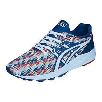 Asics Gel Kayano Trainer EVO Mens Running Trainers / Shoes - Blue White