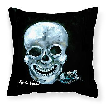 Carolines Treasures  MW1106PW1414 Ekk A Meece Canvas Fabric Decorative Pillow