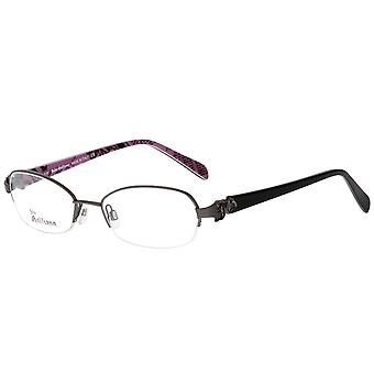 John Galliano Brille Damen Metall Brillengestell Schwarz