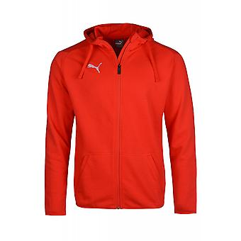 PUMA Hoodie Sweatjacke Training Liga Casual Rot