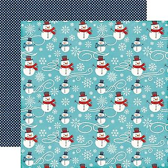 A Perfect Winter Double-Sided Cardstock 12