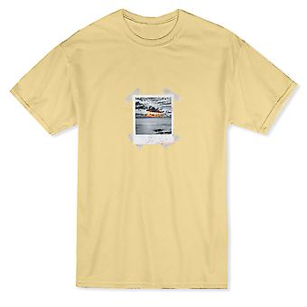 Sunset Instant Photo Graphic Men's T-shirt