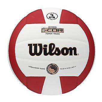 WILSON je-COR Power Touch volley-ball [blanc/rouge]