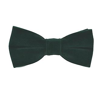Luxury Dark Green Velvet Bow Tie