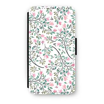 iPhone X Flip Case - Dainty flowers