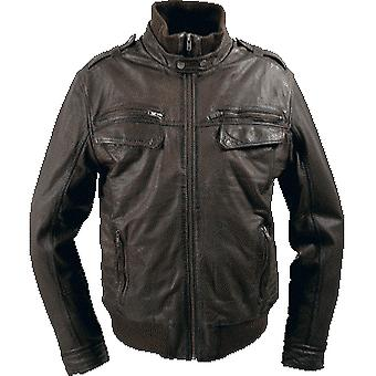 Donner Mens Leather Jacket