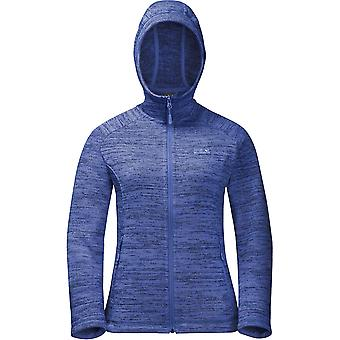Jack Wolfskin Womens/Ladies Aquila Warm Knitted Hooded Fleece Jacket