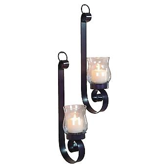 Lampett Wall lamp with glass 2-pack 39 cm