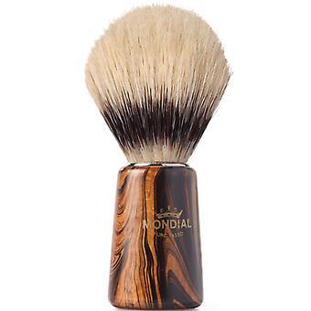 Mondial 1908 zwijnen Shaving Brush hout