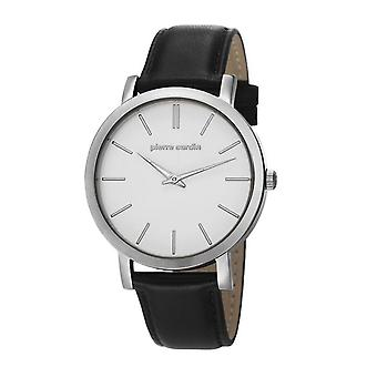 Pierre Cardin mens watch wristwatch Bonne Nouvelle leather PC106511F01