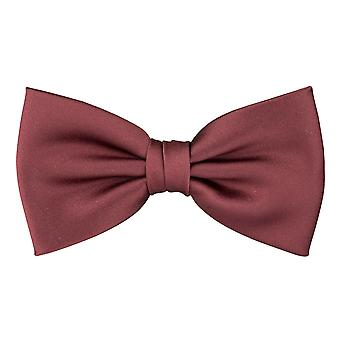 Snobbop men's bow tie, loop, tie in orange brown 6293