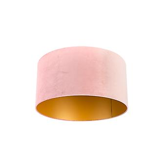 QAZQA Shade 50/50/25 Velvet Aged Pink with Gold