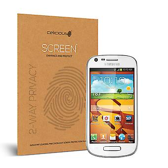 Celicious Privacy 2-Way Visual Black Out Screen Protector for Samsung Galaxy Prevail 2