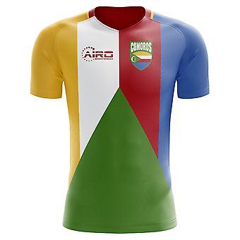 2018-2019 Comoros Home Concept Football Shirt