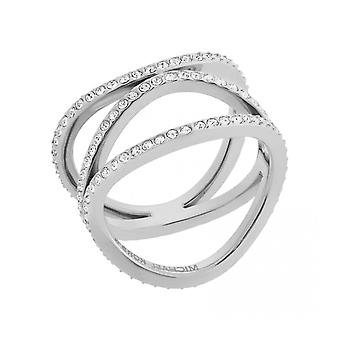 MICHAEL KORS SILVER BRILLIANCE RING