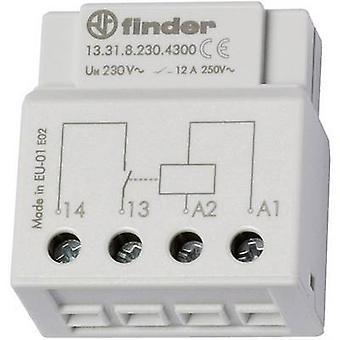 Relay Flush mount 1 pc(s) Finder 13.31.8.230.4300 1 maker 230 V AC 12 A