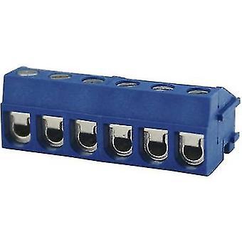 Degson DG332K-5.0-03P-12-00AH Screw terminal 2 mm² Number of pins 3 Blue 1 pc(s)