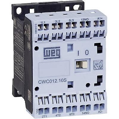 WEG CWC07-10-30C03S Contactor 1 pc(s) 3 makers 3 kW 24 Vdc 7 A + auxiliary contact