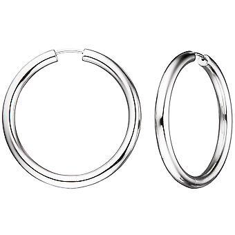 Ohrringe Creolen rund 925 Sterling Silber Ohrringe Silberohrringe Silbercreolen