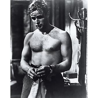 Marlon Brando shirtless Photo Print