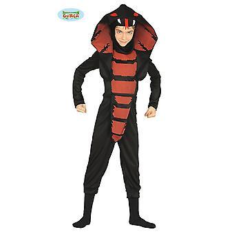 Disfraz de Ninja cobra para niños traje de niño de la serpiente