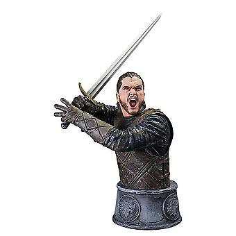 لعبة العروش التمثال معركة جون سنو من الأوباش مفصلة النسخ المتماثلة من الراتنج (الراتنج). الشركة المصنعة: الحصان الأسود.