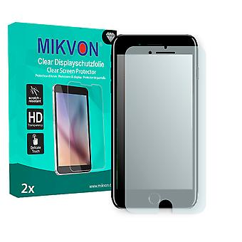 Apple iPhone 8 Plus Screen Protector - Mikvon Clear (Retail-Paket mit Zubehör) (absichtlich kleiner als die Anzeige aufgrund der gebogenen Oberfläche)