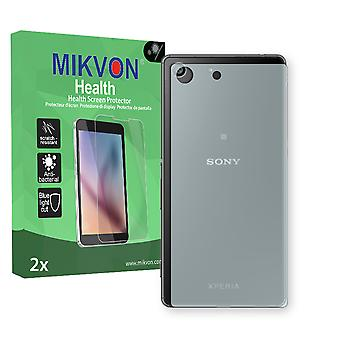 Sony Xperia M5 reverse Screen Protector - Mikvon Health (Retail Package with accessories)