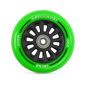 Slamm Green Ny-Core - 100mm Single Scooter Wheel