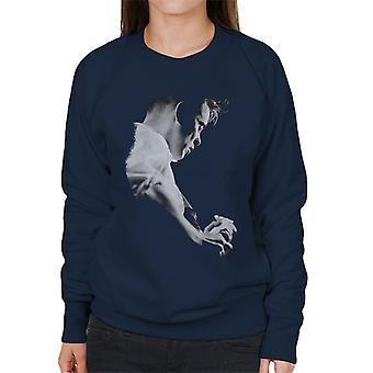 Bernard Sumner Of New Order Live Women's Sweatshirt