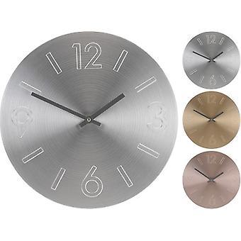 Aluminium wall clock 35 cm