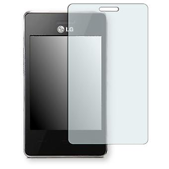LG T385 Wi-Fi screen protector - Golebo crystal clear protection film