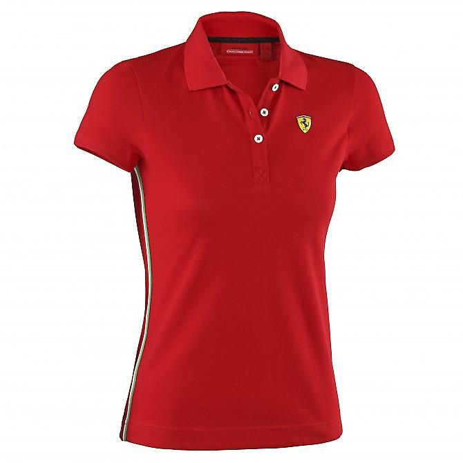 Waooh - moda - Polo classic donna Scuderia Ferrari