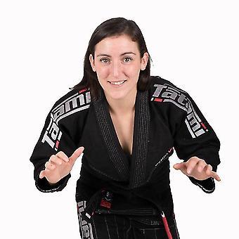 Tatami Fightwear Estilo 6.0 dames BJJ Gi zwart/zilver