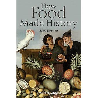Hoe voedsel maakten geschiedenis door B. W. Higman - 9781405189477 boek