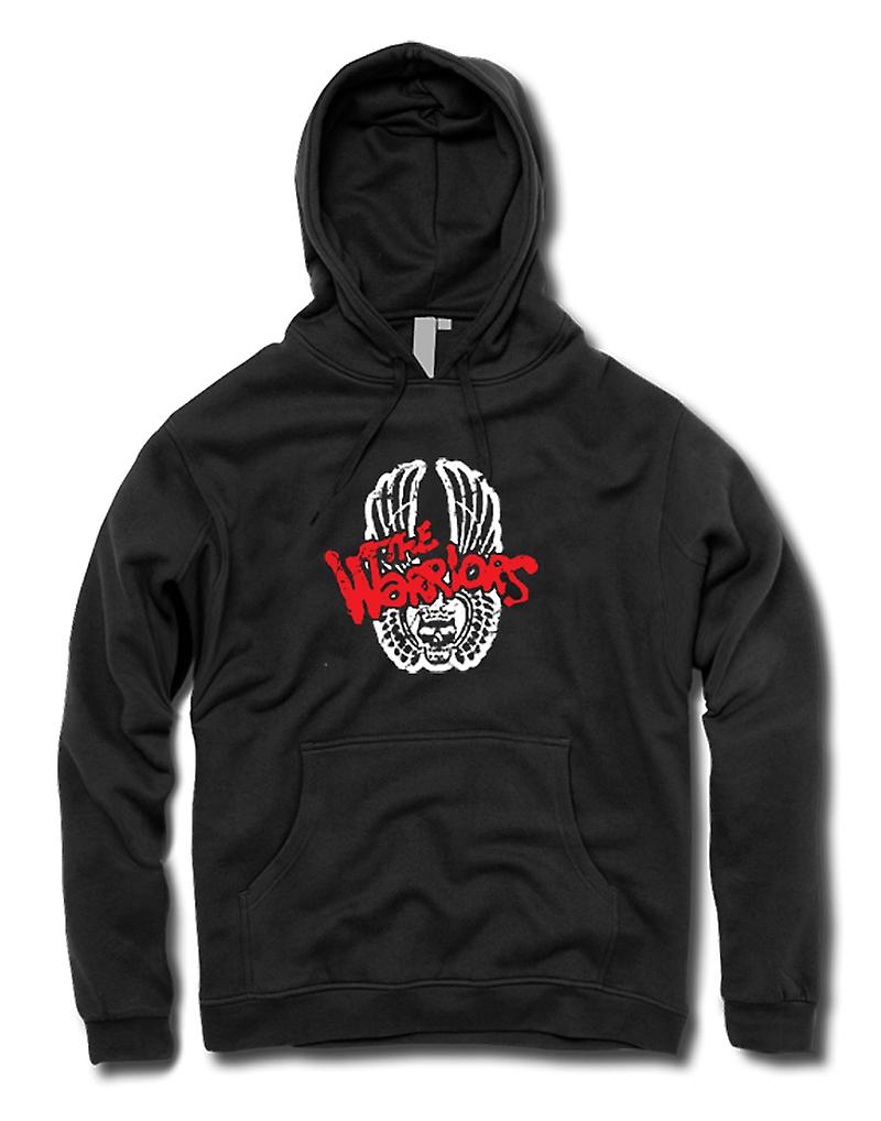 Mens Hoodie - The Warriors - Logo - Cult Movie