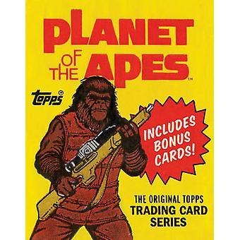 Apornas planet-den ursprungliga Topps Trading Card serien av Gary Ge