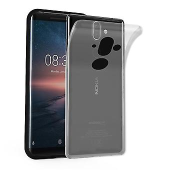 Cadorabo case for Nokia 8 Sirocco / Nokia 9 2018 - mobile cover from TPU silicone in the ultra slim 'AIR' design - silicone case cover soft back cover case bumper