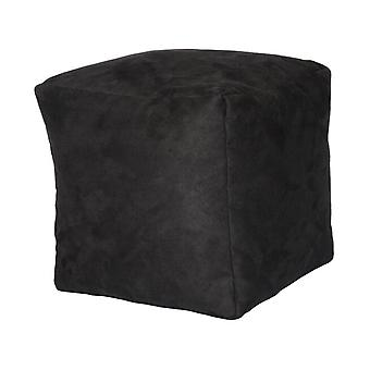 Seat cube stool stool ALKA anthracite 40 x 40 x 40 cm