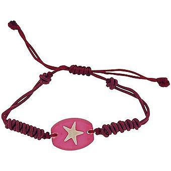 The Olivia Collection Pink Sea Life Bracelet with REAL Starfish
