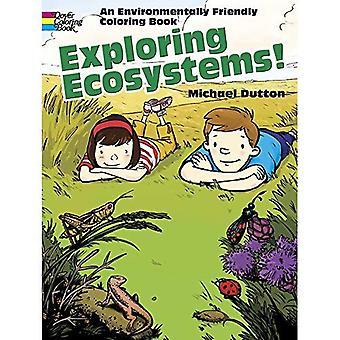 Exploring Ecosystems! (Dover Coloring Book)