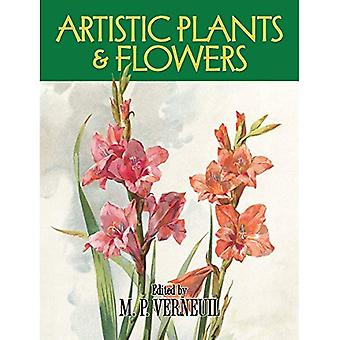 Artistic Plants and Flowers