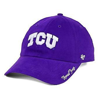 TCU の角カエル NCAA 47 ブランド磨き調整可能な帽子で
