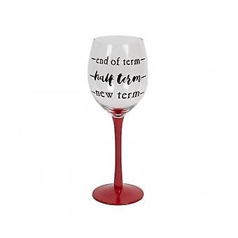 Teachers Wine Glass - Fun Teacher Gift