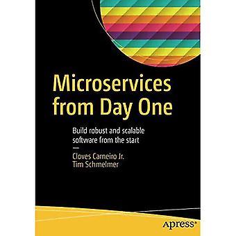 Microservices dès le premier jour: construire un logiciel robuste et évolutif dès le début