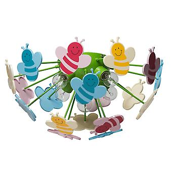 Glasberg - abeilles colorées enfants de lumière cinq semi-affleuré montage 365015105
