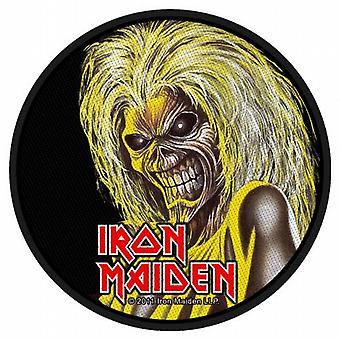 Iron Maiden Killers hoved runde sy på klud patch (ro)
