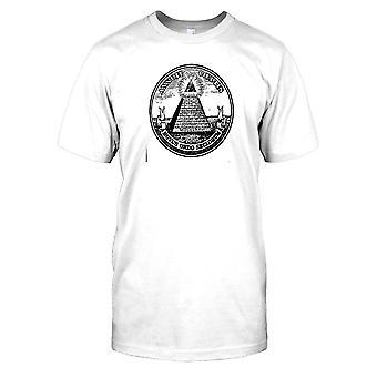 Bra tätning av Förenta staterna Mens T Shirt