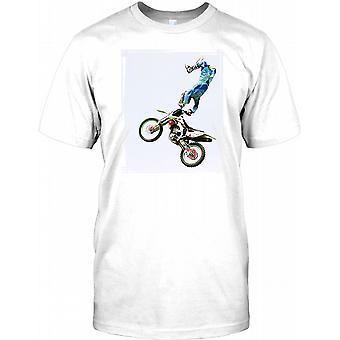 Freestyle Motocross kaskader - koszulki męskie
