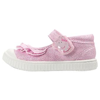 Peppa Pig Girls Halla Low Top Casual Shoes UK Sizes Child 5-10